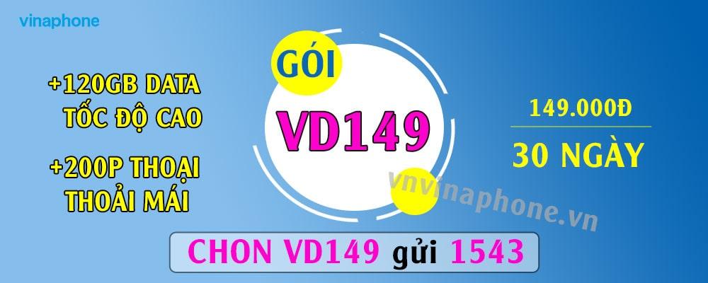 Cách Đăng Ký Gói VD149 Vina Bao Gọi + Nhắn Tin Lướt Wed Thả Ga