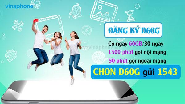 Thông Tin Cực Sốc Về Gói Đỉnh D60G Vinaphone