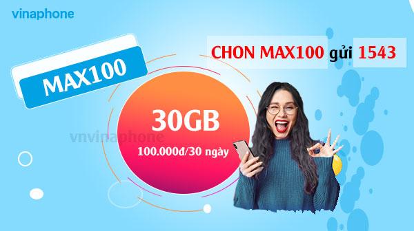 Thông Tin Gói MAX100 Vinaphone Hấp Dẫn Nhất