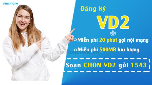 Ưu Đãi Thoại+Data Với Gói VD2 Của Vinaphone