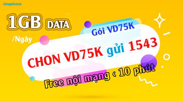 Thỏa Sức Gọi +Truy Cập Data Với Gói Cước VD75k Vinaphone