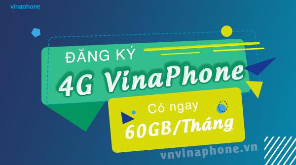 Đăng Ký 4g Vina 60GB 1 Tháng – VinaPhone Dung Lượng Khủng